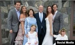 مراسم ازدواج «باربارا بوش» در ایالت مین برگزار شد