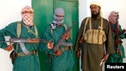 Kelompok militan Somalia, al-Shabab (foto: ilustrasi). Seorang pria AS didakwa memberikan bantuan materi kepada kelompok teroris al-Shabab.
