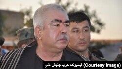 جنرال دوستم منتقدان عملیات نظامی شمال را نوکران آی اس آی خوانده است