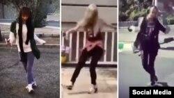 فیلم هایی از رقص آنها پیش از این در فضای مجازی پخش شده بود.