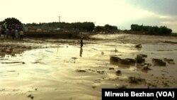 24일 아프가니스탄 북부 지역에 대규모 홍수가 발생했다.
