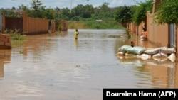 Niamey Niger flood