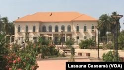 Palácio Presidencial em Bissau. Guiné-Bissau
