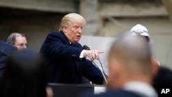 دونالد ترامپ نامزد احتمالی حزب جمهوریخواه در انتخابات ریاست جمهوری هشتم نوامبر آمریکا