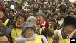 هزارمین هفته تظاهرات زنان کوریای جنوبی قربانی سؤاستفاده جنسی