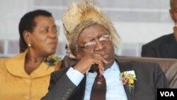 Sibangilizwe Nkomo, son of late Zapu leader, Joshua Nkomo