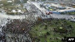 Anti vladini protesti na trgu Tahrir u Kairu