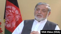 د انتخاباتو د خپلواک کمیسیون مشر ډاکتر نورستانيی