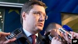 Министр энергетики России Александр Новак, Брюссель, 2 марта 2015
