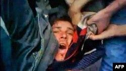 Một người biểu tình ở Syria bị thương
