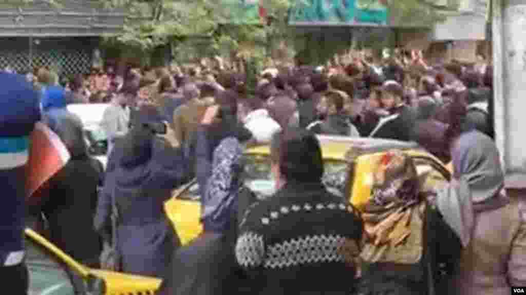 تصاویر مربوط به اعترضات در شهرهای مختلف ایران- ساری