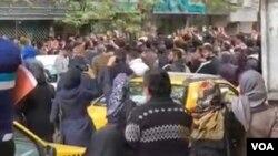 اعتراضات سراسری نسبت به گرانی بنزین - ساری (آرشیو)