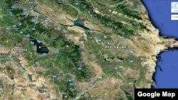 Azərbaycan və Ermənistan görüntüsü