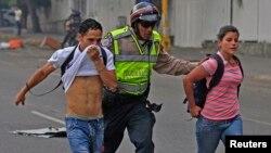 Los estudiantes han estado a la vanguardia de las protestas antigubernamentales del último mes.