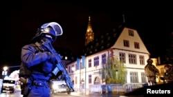 Forças de segurança em alerta em Estrasburgo