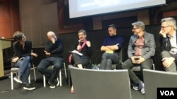 Участники обсуждения. Photo: Oleg Sulkin