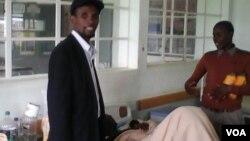 UMnu. Mqondisi Moyo umkhokheli webandla le Mthwakazi Republic Party.