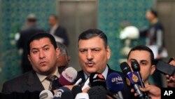 شامی حزبِ اختلاف کے رہنما ریاض حجاب (فائل فوٹو)
