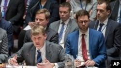 英国常驻联合国副代表艾伦在联合国安理会发言(2018年3月14日)