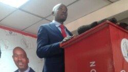Interview Zimbabwe Opposition MDC Alliance Leader Nelson Chamisa