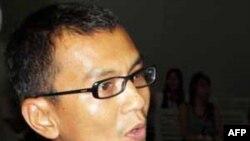 Ông Kyaw Zaw Lwin, còn được biết dưới tên Nyi Nyi Aung, bị bắt hồi tháng 9 năm ngoái ngay sau khi đến phi trường Rangoon