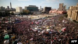 Dân Ai Cập biểu tình đòi quân đội trao quyền lại cho dân sự