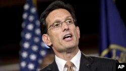 El líder de la mayoría republicana en la Cámara de Representantes, Eric Cantor, dijo que hay trabajo para lo que queda de año.