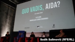 Bh. premieres of the film Quo vadis, Aida? by Director Jasmila Žbanić at the Potocari Memorial Center.