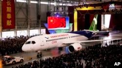 Máy bay chở khách C919 của Công ty COMAC, Trung Quốc.