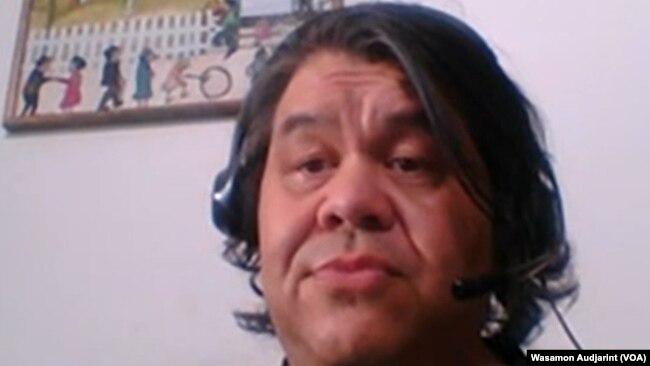 Matt Mirmak, a Thai-American paratransit taxi driver living in Irvine, California