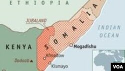 소말리아 지도