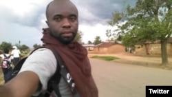 Charly Kasereka, journaliste de VOA Afrique en RDC, a été interpellé pendant une manifestation.