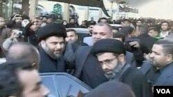 Doček Muqtada al-Sadra u Najafu