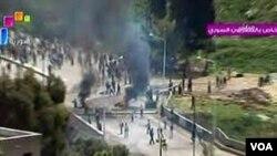 El ejército sirio lleva meses reprimiendo brutalmente las manifestaciones antigubernmentales.
