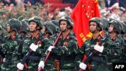 Việt Nam có khoảng 450,000 binh sĩ hiện dịch và 5 triệu binh sĩ trừ bị