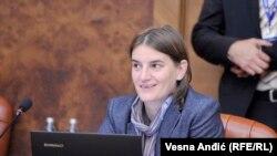Ana Brnabić (foto RFE), mandatarka za sastav nove vlade.