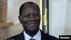 Le président Ouattara