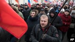 Марш Немцова в Москве. 25 февраля 2018 г.