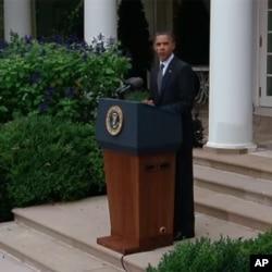 Obama fala sobre a morte de Kadhafi