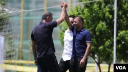 برخورد گرم عبدالله ویسی و کارلوس کیروش