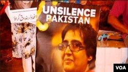 کراچی: سبین کے قتل کے خلاف احتجاج کا 25 واں روز