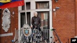 Pendiri WikiLeaks, Julian Assange masih tinggal di Kedutaan Ekuador di London (foto: dok).