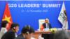 Thủ tướng Việt Nam kêu gọi lãnh đạo G20 'chia sẻ' trách nhiệm trước đại dịch