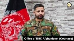 新任阿富汗陸軍首腦阿里扎伊將軍。(阿富汗國家安全委員會照片)