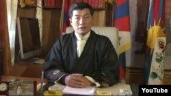 西藏流亡政府總理洛桑森格(資料圖片)