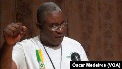 Arlindo Carvalho, presidente do PCD, São Tomé e Príncipe