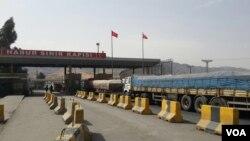 Habur border gate