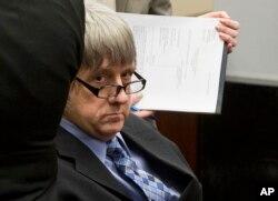 David Turpin appears in court in Riverside, Calif., Feb. 23, 2018.