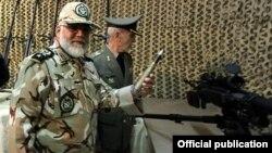 تصویر آرشیوی از فرمانده نیروی زمینی ارتش ایران