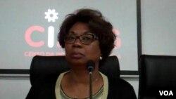 Ministra da Indústria Bernarda Gonçalves Martins